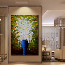 Canvas Painting palette knife 3D texture painting Flower Wall art wall Pictures9