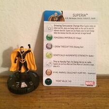 Avengers Assemble Superia Marvel Heroclix Uncommon Figure #032