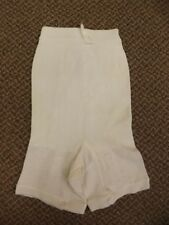 Vtg 1950s NEW Rubber Knit Long Leg Shaper Garters Panties Girdle Pettipants L