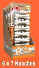 8in1 Delicias Fuerte hueso para Roer XS 6x7 unidades, kauende perros Comida