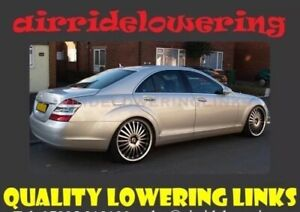 MERCEDES S CLASS W222 2014 - 2021 ABC / Air Suspension Lowering Links Full Kit