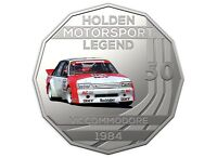 2018 Holden Motorsport Collection RAM 50c Coin - 1984 VK Commodore HDT