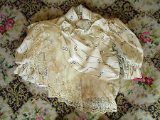 Victorian 1890s Two Piece Silk Walking Dress Gown