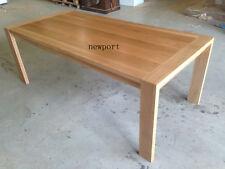 local made solid tasmanian oak hardwood dining table 1800/900