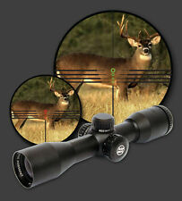 PARKER RED HOT 3x32 Illuminated Multi - reticle CROSSBOW SCOPE.    38-2142