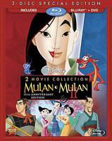 Mulan / Mulan II (Blu-ray + DVD) Blu-ray