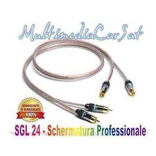 Tec PS5 PS 5 Cavo RCA Remote Audio Hi Fi SGL24 5 Metri Professionale Schermato