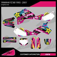 TEAM  ROCKSTAR  GRAPHICS  YAMAHA YZ125 YZ250 YZ  1993 1994 1995