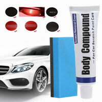 Car Remover Sets Scratch Repair Paint Body Compound Paste Touch Up Clear Sets