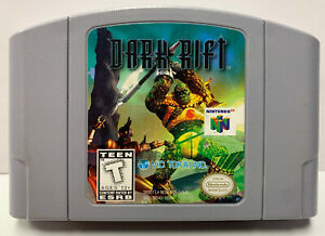 Dark Rift for Nintendo 64 Authentic NTSC Cartridge Only N64 By Vic Tokai