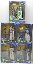 "SIDESHOW TOYS SET OF 5 MONTY PYTHON AND THE HOLY GRAIL 12"" FIGURES NIP 1:6th"