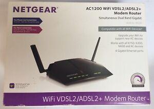 Netgear AC1200 WiFi VDSL2/ADSL2 + Modern Router D6220-100 uks