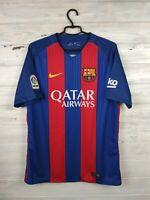 Impotencia marco Predicar  Barcelona Jersey 2016 2017 Home S Shirt Nike Football Soccer 776850-415 |  eBay