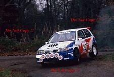 David Llewellin Nissan Sunny GTI-R RAC Rally 1991 Photograph 1