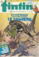 TINTIN L'HEBDOMADAIRE DES SUPER-JEUNES DE 7 A 77 ANS 26/2/85