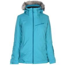 Chaqueta esquí Salomon aumento cremallera repelente al agua superior abrigo señoras con cremallera UK 16 (XL)