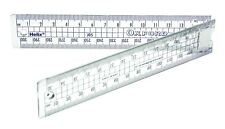 Helix Oxford Folding Ruler  30cm/300mm. J05 School Pencil Case