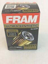Oil Filter Ultra Synthetic Fram Ultra XG7317 Spin On Full Flow With Sure Grip