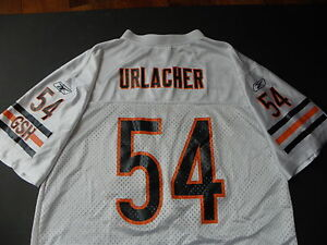 Brian Urlacher 54 Chicago Bears Football Jersey White Sewn Youth XL 18 20 NFL
