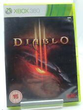Diablo III (Microsoft Xbox 360, 2013) complete with Manual.