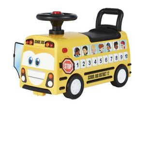 Kalee Ride On Musical School Bus