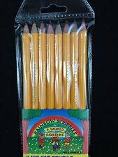 8 Big Fat Pencils Number 2 Jumbo Pencils Kids Or Elderly  (no erasers)