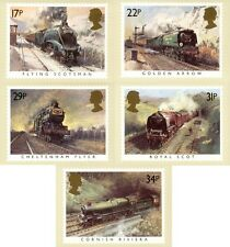 GB POSTCARDS PHQ CARDS MINT NO. 81 1985 FAMOUS TRAINS 10% OFF 5+