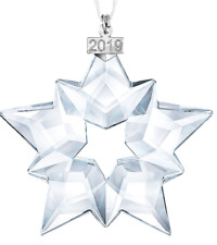 *Nib* 2019 Large Swarovski Crystal Christmas Ornament Star/Snowflake #5427990