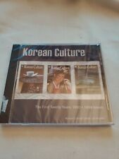 Korean Culture Cd Rom New