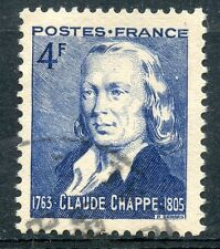 STAMP /  TIMBRE FRANCE OBLITERE N° 619  CLAUDE CHAPPE