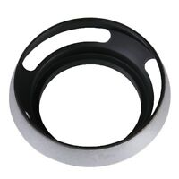 55mm Vented Curved Metal Lens Hood Sun Shade For Leica Series Camera M9 M8 M-9