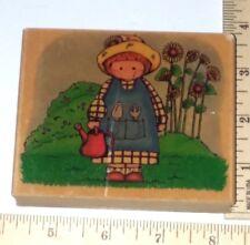 Garden Country Cutie 73-J Embossing Arts Wood & Foam Rubber Stamp