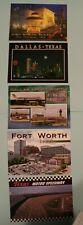 5 - Postcards Texas Dallas / Fort Worth  (DFW)