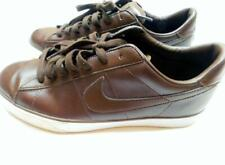 NIKE BRS Brown Leather Lace Up Sneaker Shoes Sz 11