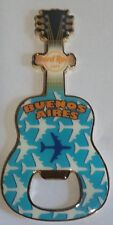 Bottle Opener  Guitar  Magnet Hard rock cafe airport  Buenos Aires  Argentina
