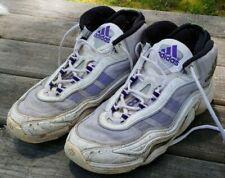 Orig 1998 ADIDAS KB 8 II 2 H White Purple KOBE BRYANT B-Ball SHOES Size= US 10