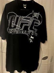"UFC Mens XL Black T-Shirt ""As Real As Its gets very rare and in great condition"