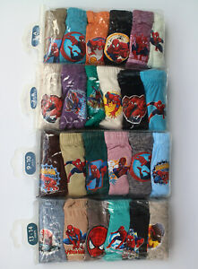 Marvel The Amazing Spider-Man Boys' BRIEFS 6-Pack Underwear