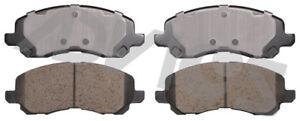 Disc Brake Pad Set-DE Front ADVICS AD0866