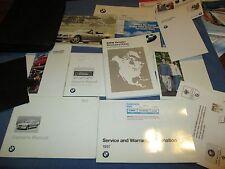 1997 BMW M3 SEDAN COUPE OWNERS MANUAL 97 SET W/ CASE