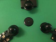 "Morse Code Telegraph Key Part 1ea NAVY KNOB FINGER REST / DISC SKIRT 1&5/8"""