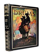 N C Wyeth, James Boyd, DRUMS, circa 1940, Scribners Illustrated Classics, HC/DJ