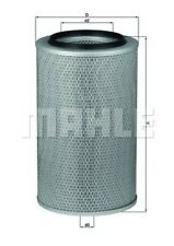 MAHLE ORIGINAL Luftfilter Motor Air Filter LX 227