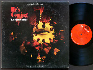 ROY AYERS UBIQUITY He's Coming LP POLYDOR PD 5022 US 1972 Soul Jazz Funk