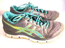 Asics Gel Neo33 Womens Running Walking Athletic Shoes Size 7 Gray Teal Green
