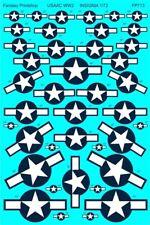 Us Army Air Corps Ww2 Aircraft Insignia (1/72 decals, Fantasy Printshop 713)