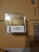 Albert Pujols Game Used MLB Authenticated Foul  Baseball Angels