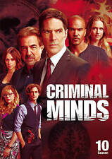 Criminal Minds: The Tenth Season 10 (DVD, 2015, 6-Disc Set) Brand New & Sealed!