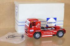 CONRAD NZG 6000 MAN RACE TRUCK DRIVER FRITZ K MINT BOXED nh