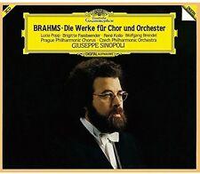 Giuseppe Sinopoli - Brahms: Works For Chorus & Orchestra [New CD] Shm CD, Japan